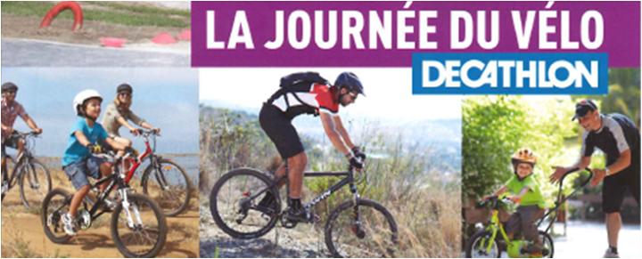 journée du vélo decathlon Nîmes